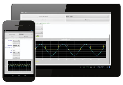 Android Data Acquisition Apps